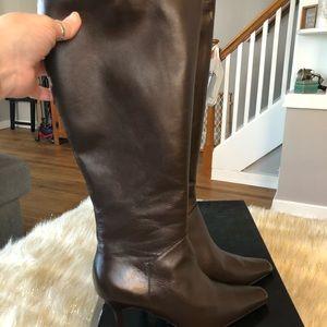 NIB Colin Stuart brown boot 8m